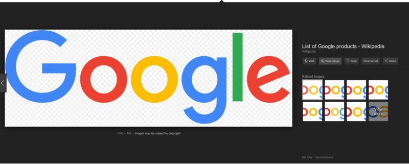 "How to easily get back your ""View Image"" button in Google"